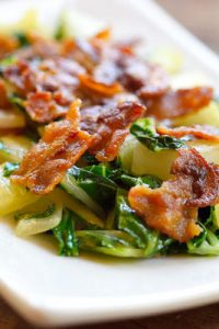 Low Carb Bacon Bok Choy Recipe
