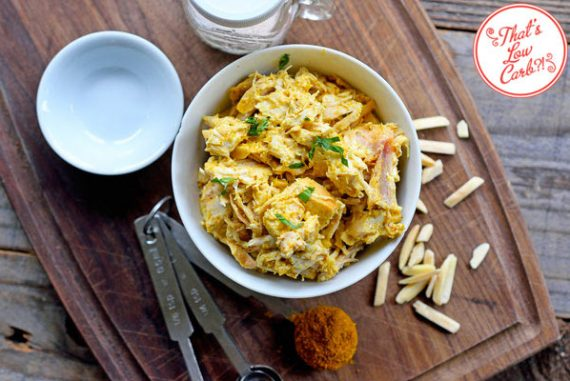 Low Carb Chicken Curry Salad Recipe