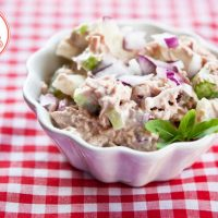 Low Carb Tuna Vegetable Salad Recipe