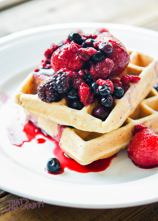 Low Carb Waffles Recipe