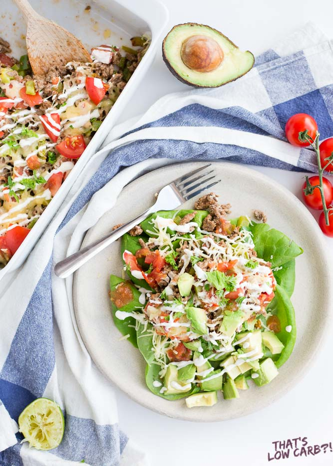 Low Carb Taco Salad Recipe