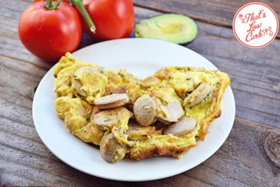 Low Carb Sausage Omelet Recipe