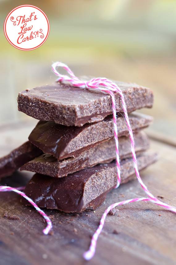 Low Carb Chocolate Bars Recipe