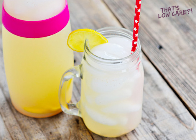 Low Carb Lemonade Recipe | Low Carb Recipes by That's Low Carb?!
