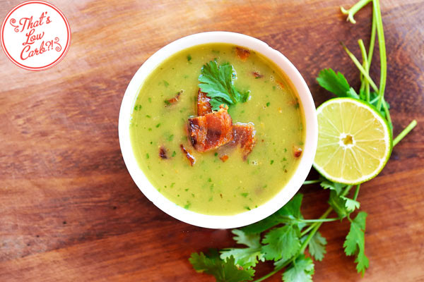 Low Carb Bacon Avocado Soup Recipe