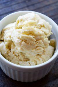 Low Carb Coconut Vanilla Ice Cream Recipe