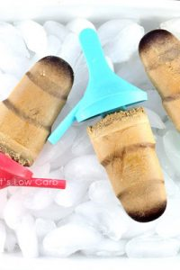 Low Carb Keto Coffee Popsicles Recipe