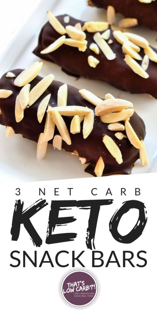 Low Carb Snack Bars