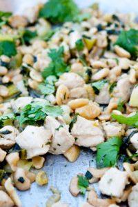 Low Carb Keto Bok Choy Cashew Chicken Recipe