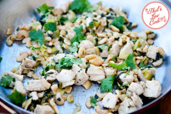 Low Carb (Keto) Bok Choy Cashew Chicken Recipe
