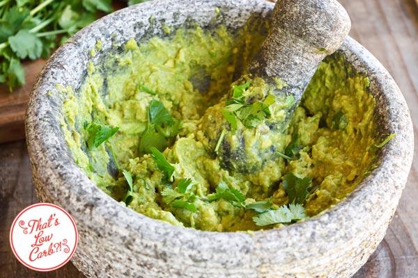Low Carb Guacamole Recipe