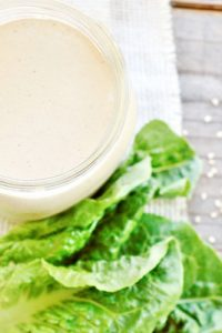 Low Carb Sesame Ginger Dressing Recipe