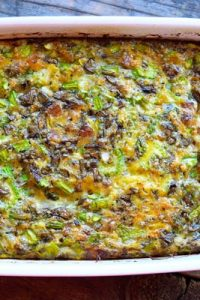 Low Carb Bacon Asparagus Breakfast Casserole Recipe