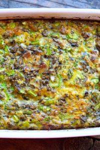 Low Carb Bacon Asparagus Breakfast Casserole Recipe