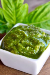 Low Carb Dairy Free Pesto Recipe