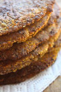 Low Carb Fried Flatbread Recipe