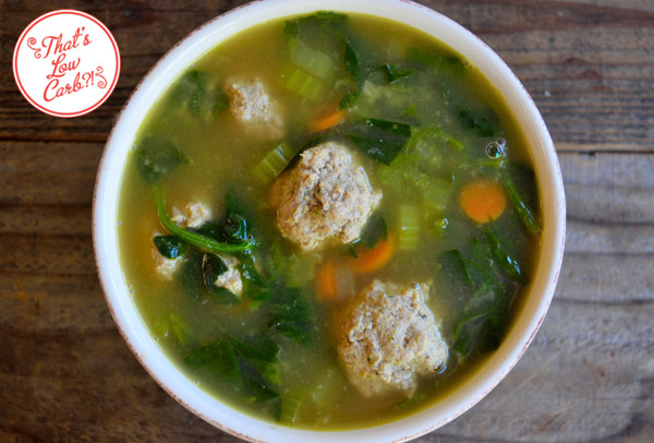 Low Carb Italian Wedding Soup Recipe