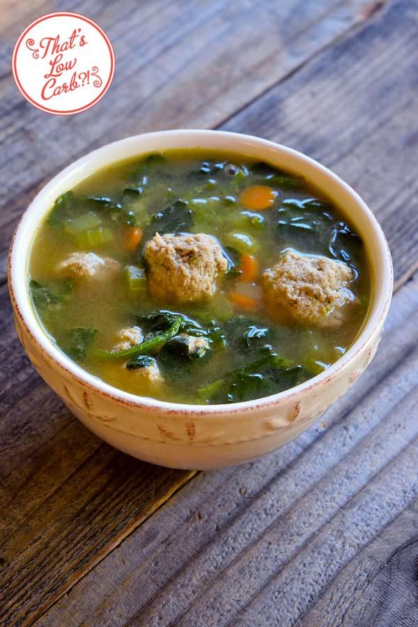 Low Carb Italian Wedding Soup Recipe