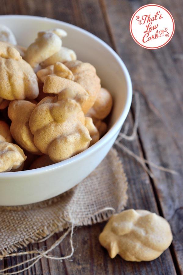 Low Carb Pumpkin Spice Meringues Recipe