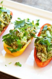 Low Carb Taco Stuffed Peppers
