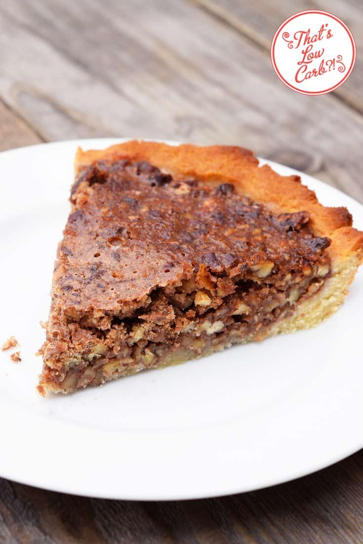 Low Carb Pecan Pie Recipe