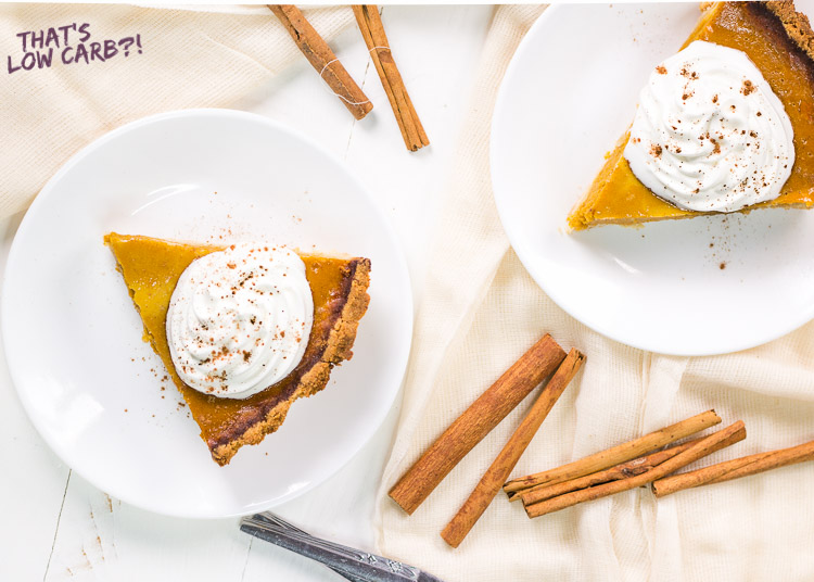 Keto Low Carb Pumpkin Pie Recipe