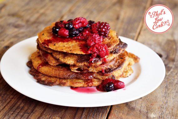 Low Carb Pancakes Recipe