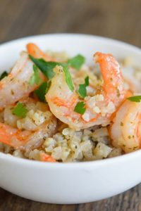 Low Carb Cauli-Rice & Shrimp Recipe
