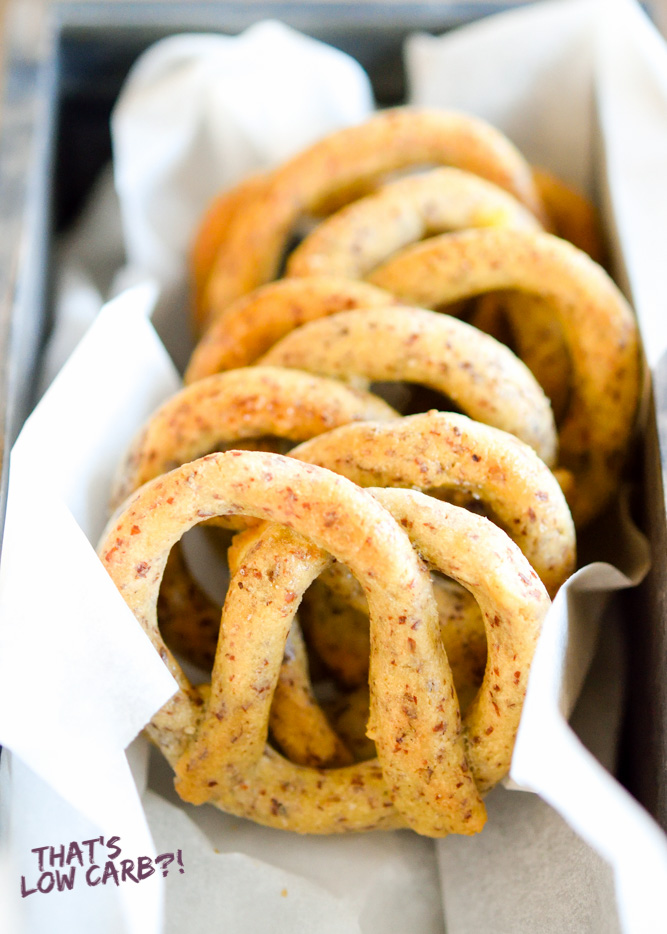 Low Carb Pretzels Recipe