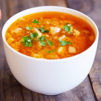 Low Carb Pressure Cooker Risotto Bolognese Soup Recipe