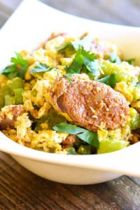 Low Carb Mexican Chorizo Scramble Recipe