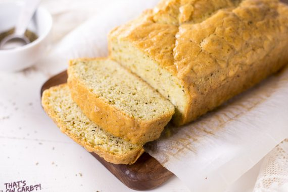 Low Carb Rosemary Sandwich Bread Recipe