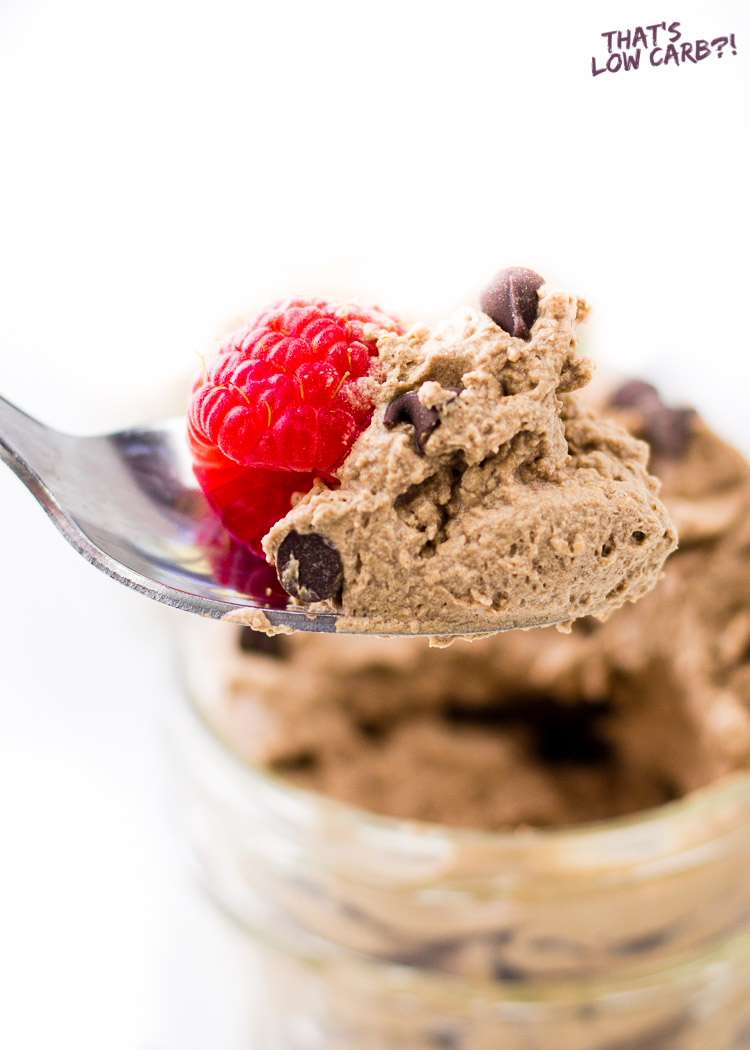 Low Carb Keto Chocolate Mousse Recipe