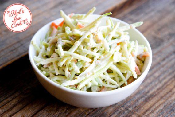 Low Carb Broccoli Slaw Recipe