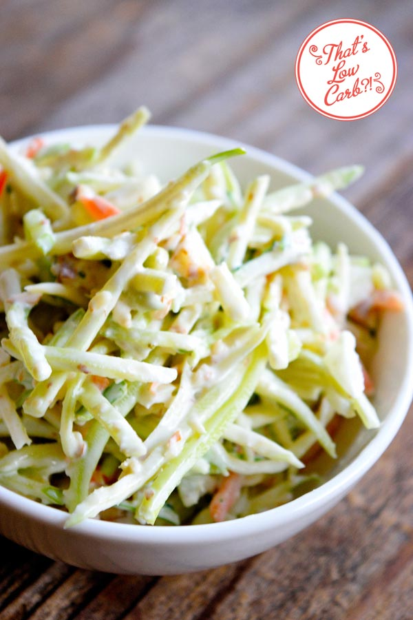 Low Carb Broccoli Slaw Recipe