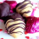 Low Carb Chocolate Covered Marzipan Hearts Recipe