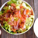 Low Carb (Keto) BLT Salad Recipe