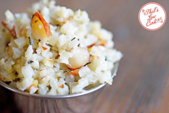 Low Carb Cauli-Rice Pilaf Recipe