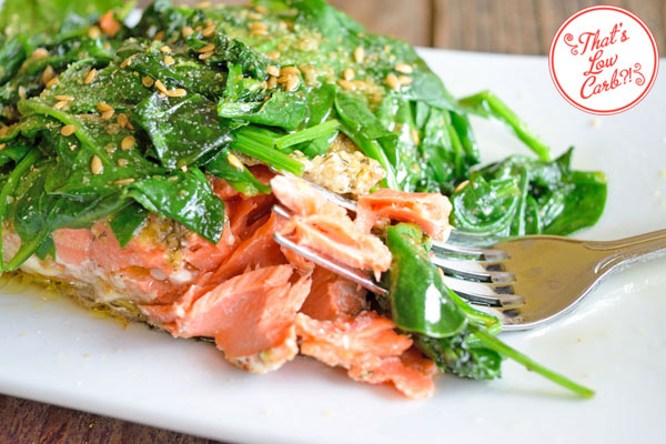 Low Carb Omega 3 Fat Bomb Salmon Recipe