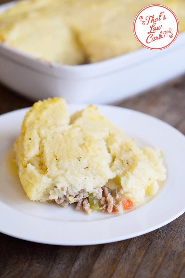 Low Carb Sheperd's Pie Recipe