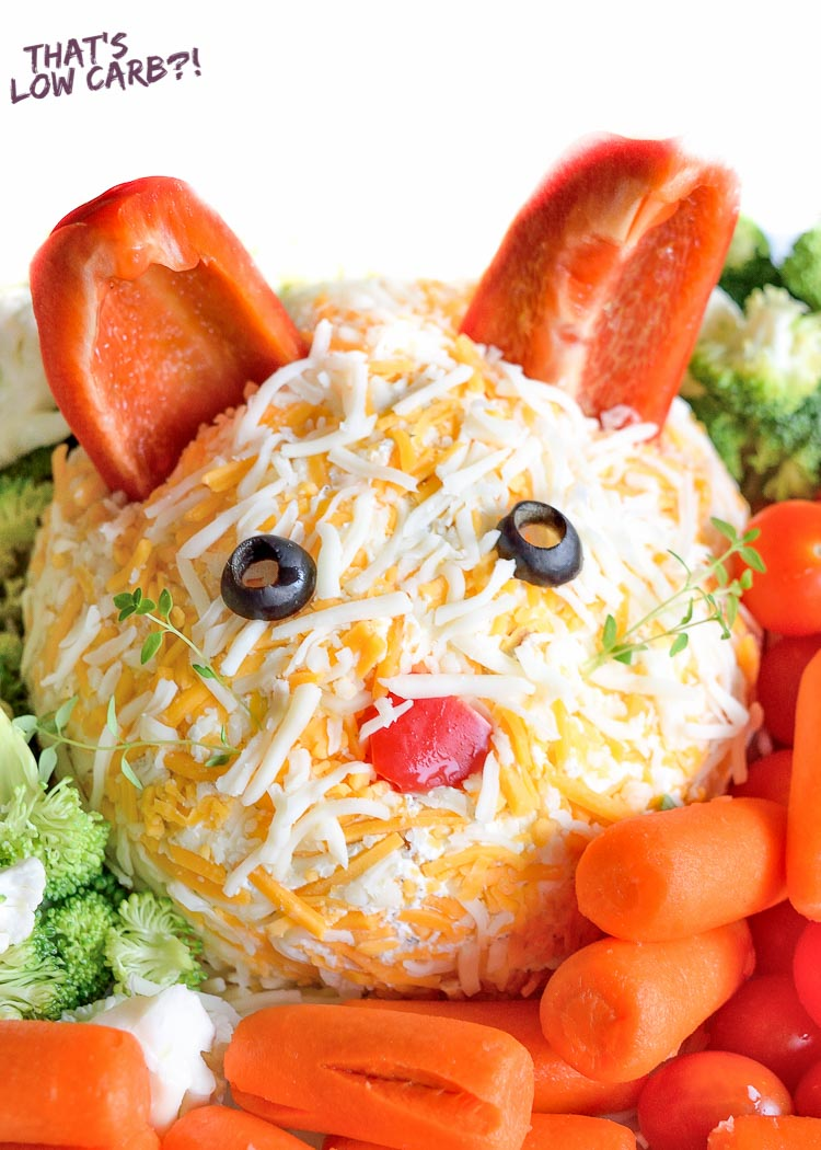 Low Carb Bunny Veggie Dip Recipe