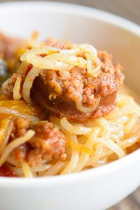 Low Carb Mexican Chorizzo Pasta Recipe