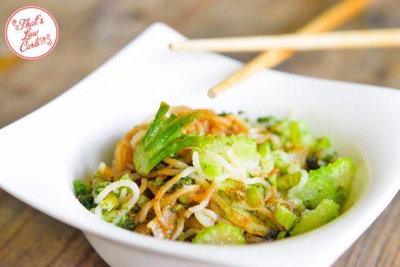 Low Carb Noodle Stir Fry Recipe