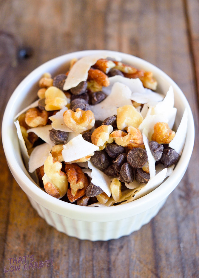 Low Carb Party Mix Recipe