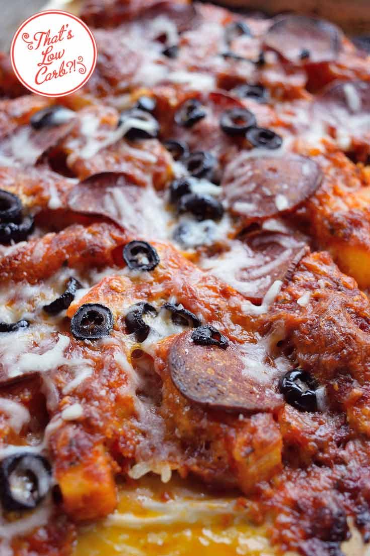 Low Carb Jicama Pizza Fries Recipe