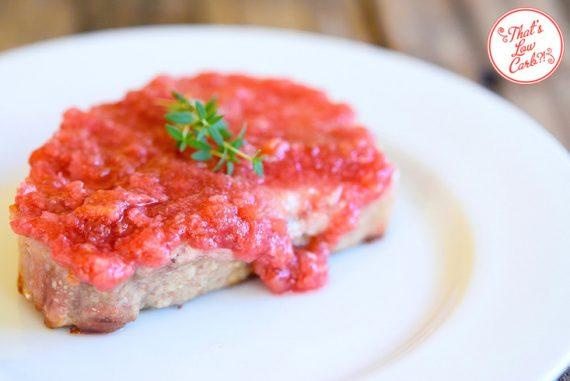 Low Carb Pork Chops With Rhubarb Glaze Recipe