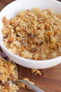 Low Carb Breadcrumb Substitute (Low Carb Bacon Breading Recipe)