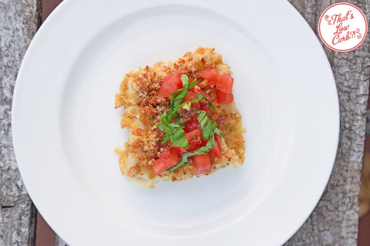 Low Carb Bacon Crusted Cod Recipe