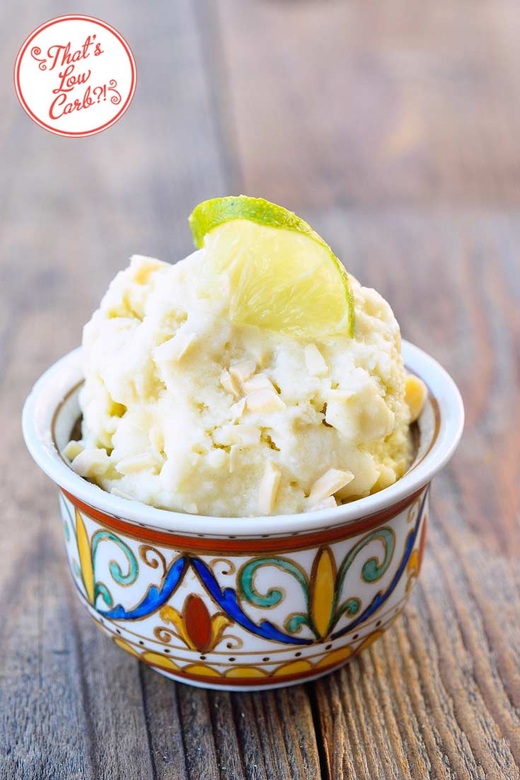 Low Carb Thai-Style Lemongrass Ice Cream Recipe