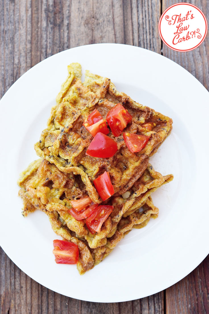 Low Carb Waffle Iron Omelets Recipe